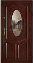 Drzwi zewnętrzne drewniane Dallas
