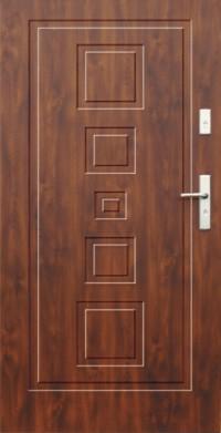 Drzwi zewnętrzne stalowe Wikęd
